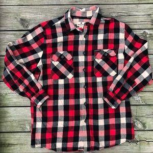 Woolrich Men's Shirt-Buffalo Check Plaid Flannel